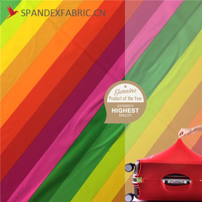 Bi Stretch Rainbow Elastic Suitcase Cover Fabric