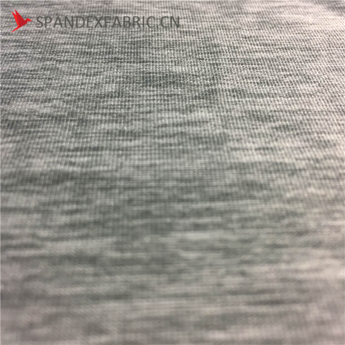 Breathable Poly Spandex Cationic Active Wear Fabric