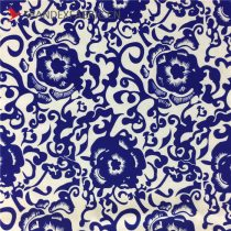 Chinese Pattern Nylon Lycra Fabric Stretchy Material