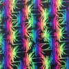 Fluorescence Tropical Print Polyamide Spandex Beachwear Fabric