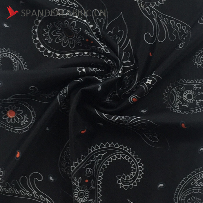 Polyester Spandex Blend Cycling Wear Fabric