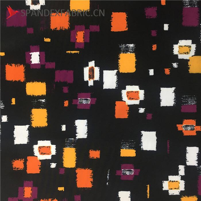 Printed Lycra Nylon Swimwear Fabric