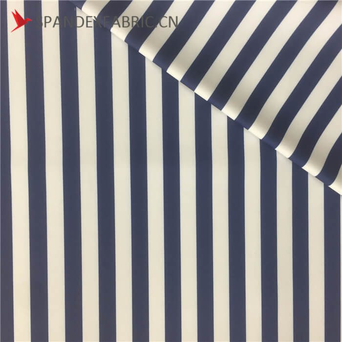 striped fabric, polyester and elastane fabric, swimsuit fabric wholesale