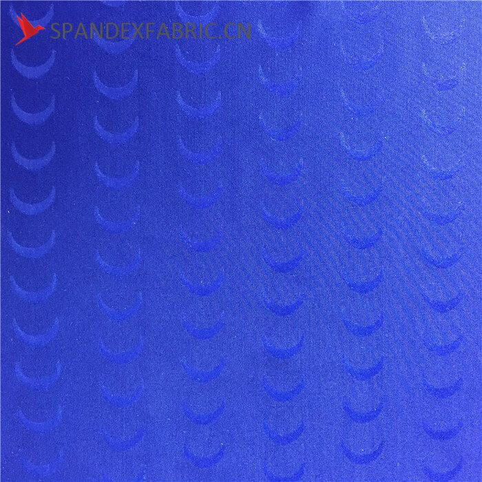 Textured Supplex Lycra Polyester Emboss Fabric Textile
