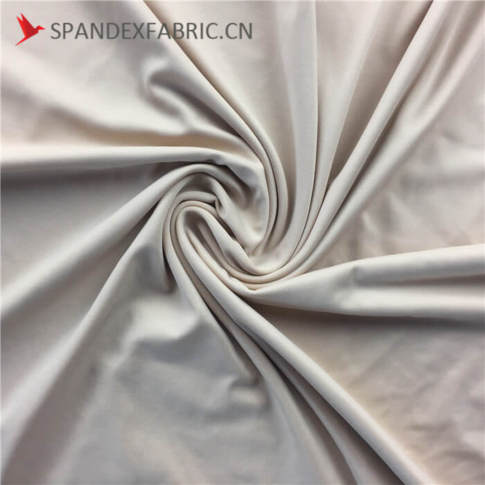 Thick Microfiber Polyester Spandex Lingerie Fabric