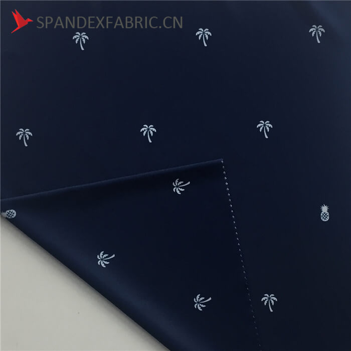 Thin Poly Spandex Blend Outdoor Fabric