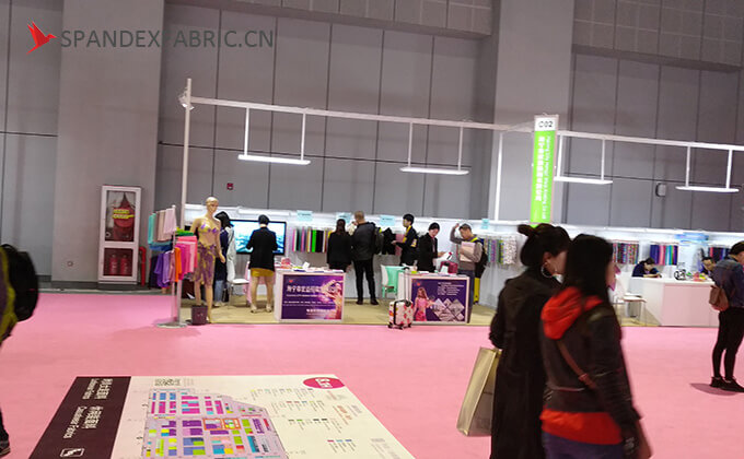 intertextile hongyi booth 2018