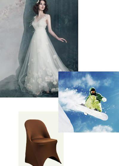 spandex fabric cn home pic wedding
