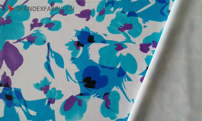 spandex fabrics transfer printing